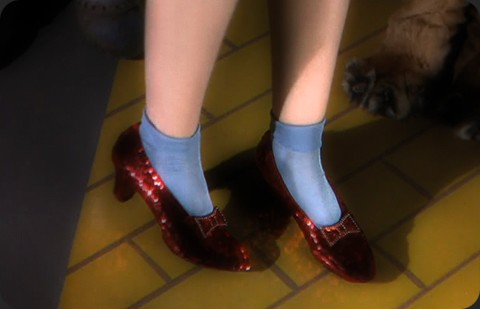 Interesting facts about Judy Garland's ruby slippers