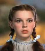 Judy Garland as Dorothy