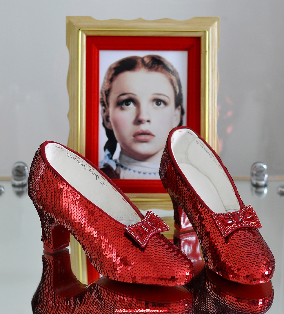 Judy Garland Ruby Red Shoes