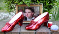 Judy Garland's ruby slippers official Facebook page