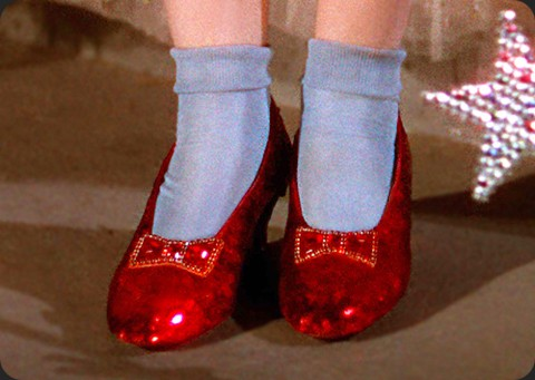 Rare letter from Kent Warner, the founder of the ruby slippers